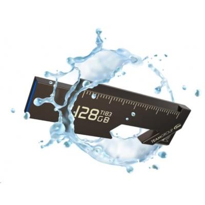 TEAM Flash Disk 128GB T183, USB 3.2 (vodotěsný, prachotěsný, nárazuvzdorný, odolný proti korozi)