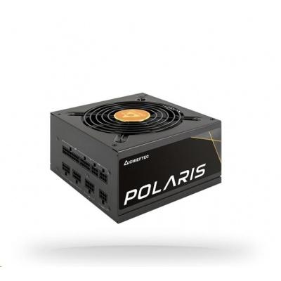 CHIEFTEC zdroj Polaris Series, PPS-750FC, 750W, ATX-12V V.2.4, PS2, 12cm fan, Active PFC, Modular, 80+ Gold