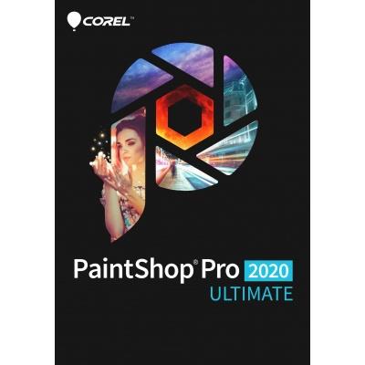 PaintShop Pro 2020 ULTIMATE ML Mini Box EN/FR/NL/IT/ES