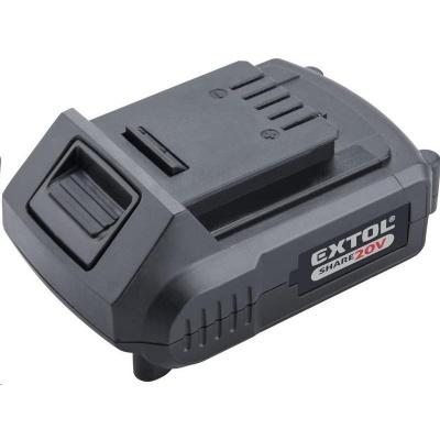Extol Premium (8891881) baterie akumulátorová vrtací šroubovák aku SHARE20V, Li-ion, 2000mAh, 2000mAh