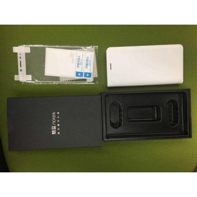 MEIZU  Protective Case pro Meizu M6 Note, bílá (flipový obal s  folii, darkove baleni)