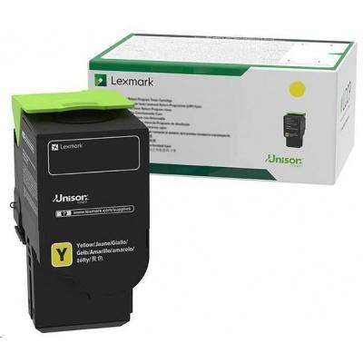 Lexmark žlutý toner C2320Y0 Return progam pro C2525, C2425, C2535, MC 2325, MC 2425, MS2535, MC2640 - 1 000 str