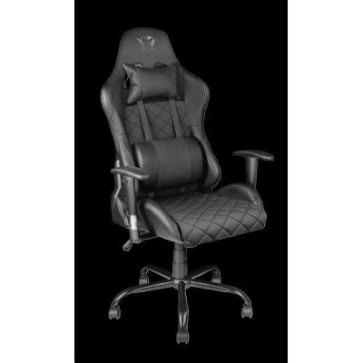 TRUST herní křeslo GXT 707 Resto Gaming Chair - black