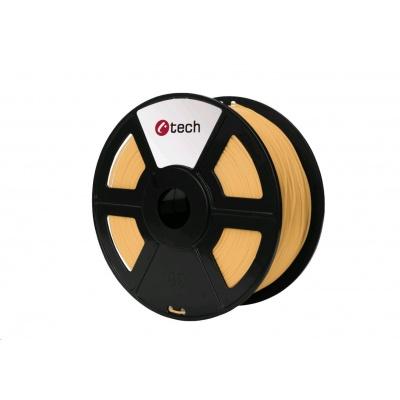 C-TECH Tisková struna (filament) PLA, 1,75mm, 1kg, skin (barva lidské kůže)