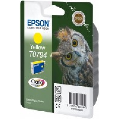 "EPSON ink bar Stylus Photo ""Sova"" R1400 - Yellow - C13T07944010"