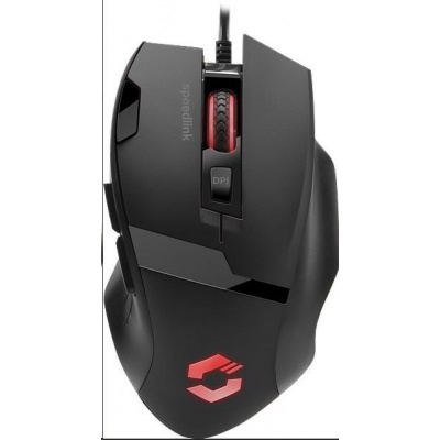 SPEED LINK herní myš VADES Gaming Mouse, black-black